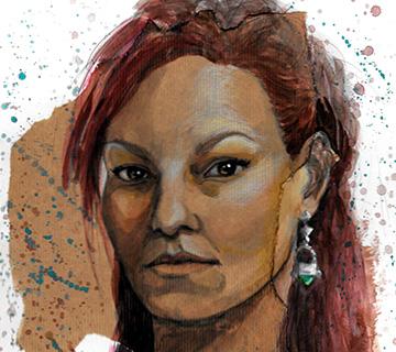 Aurélya (autoportrait)