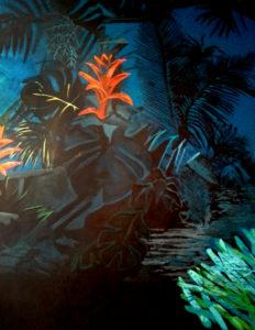 Peinture murale Restaurant « Le Füso » à Cannes